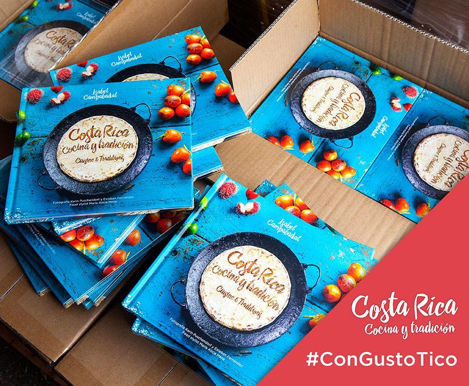 Costa Rica cocina y tradición,  Isabel Campabadal Publicaciones .