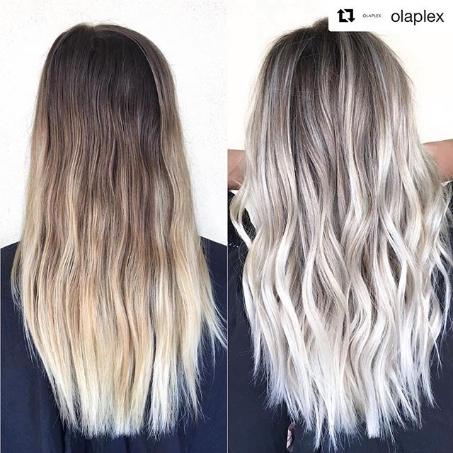 This is how to bleach hair without ruining it -- Get an olaplex treatment and professional coloring service at our salon!  Make an appointment with us to experience Instant hair transformation tailored to you! AMOUR SALON Shop B, 38 Hennessy Road, Wan Chai, Hong Kong 香港灣仔軒尼詩道38號地下B舖 (852) 29891555  #Repost @olaplex ・・・ ICY ❄️🌬❄️ Love this Olaplex transformation by @beckym_hair! #hairgoals #platinum #icyblonde #blonde #transformation #olaplex