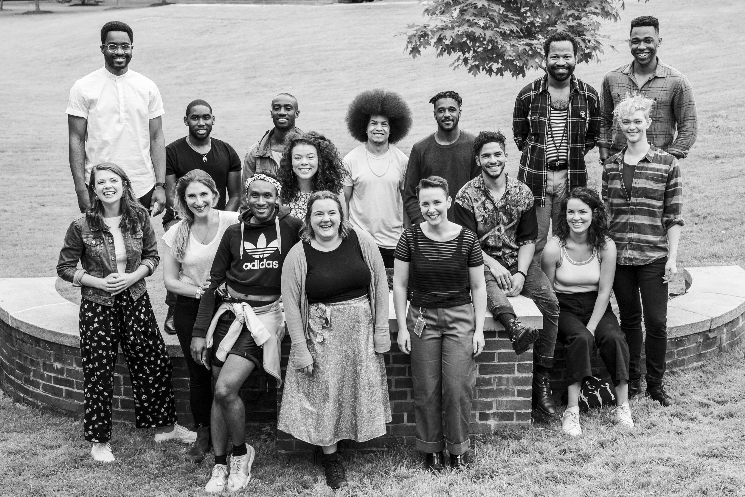 The Williamstown Theater Festival Non-Equity Company. 2019.  Photo by Joseph O'Malley.