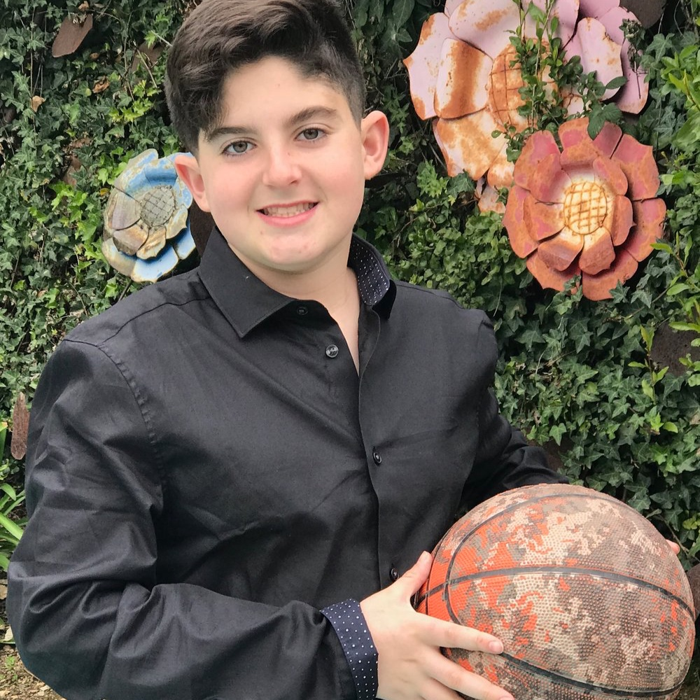 "Julian Pas - ""For my Mitzvah project, I am choosing to help out the Israel Sport Center for the Disabled. Why? Sports have always been important to me, a way to be involved and feel a part of something."""