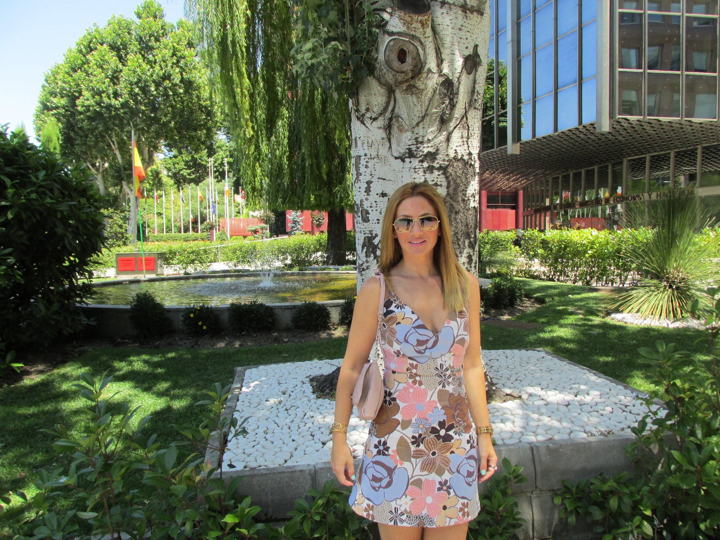 soft coloured dress fashion blog 3