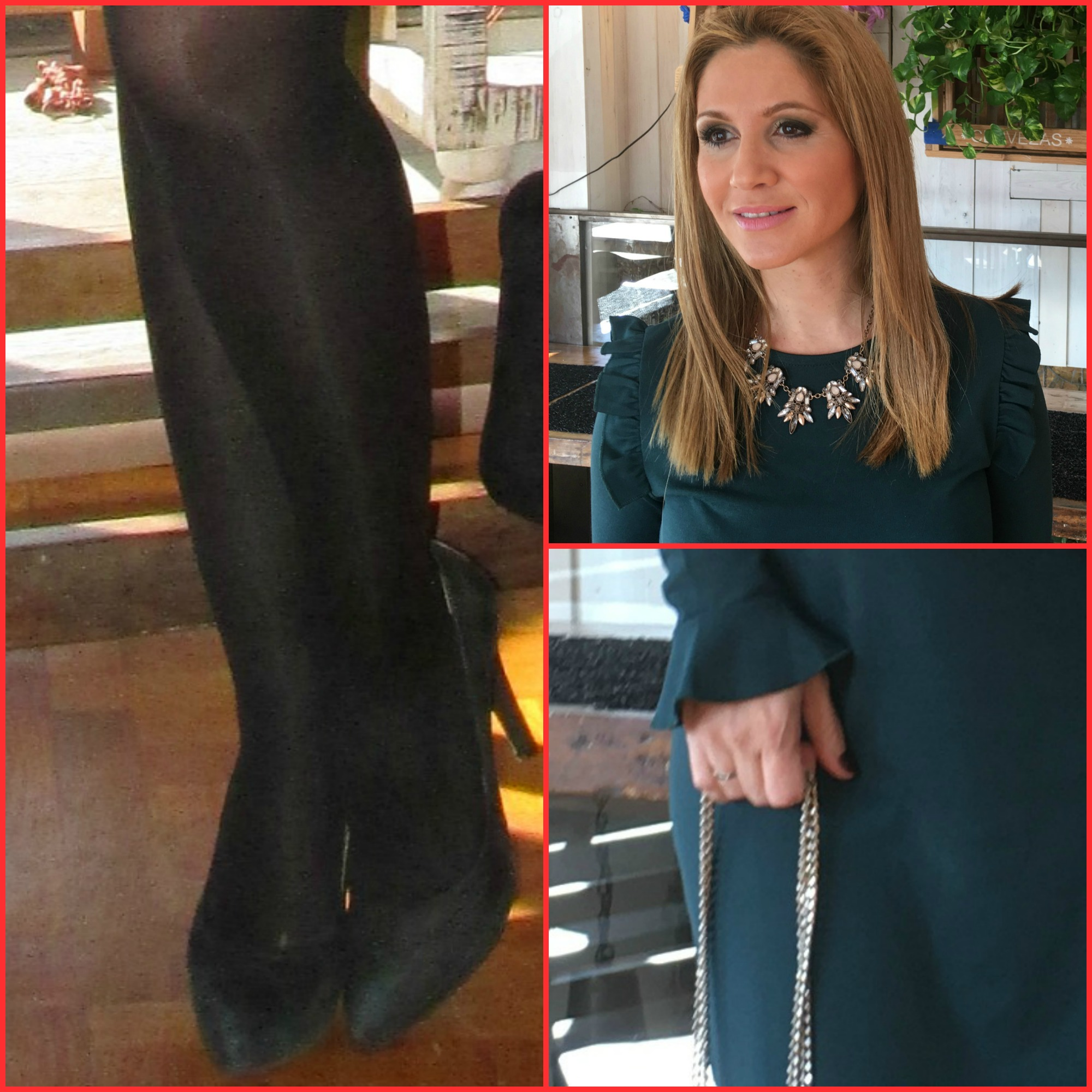 Dress: BERSKA (fall/winter ´16);Necklace: SFERA (fall/winter ´16); Shoes: MARIAN;