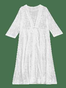 Transparent kimono
