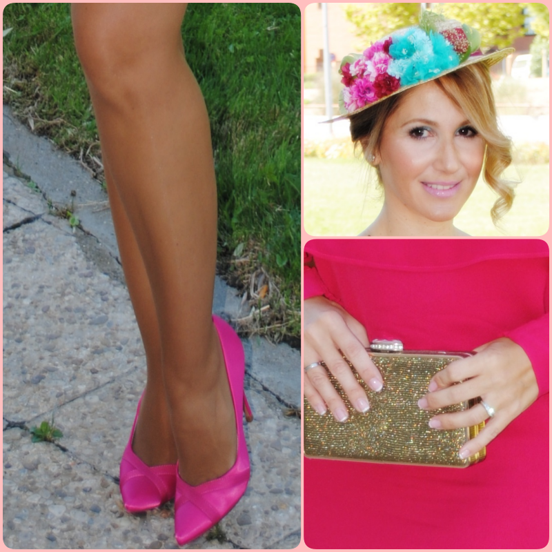 Dress: ZARA (summer 2017); Shoes: BERSKA; Wedding ring: TIFFANY & CO; Diamonds ring: SANCHEZ CORDERO JEWELRY SHOP; Clutch: MARCO ALDANY SANCHINARRO; Canotier: FLOR CANELA DESIGN
