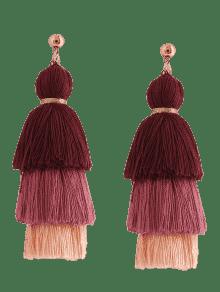 Earrings  with tassels/  Pendientes  con borlas