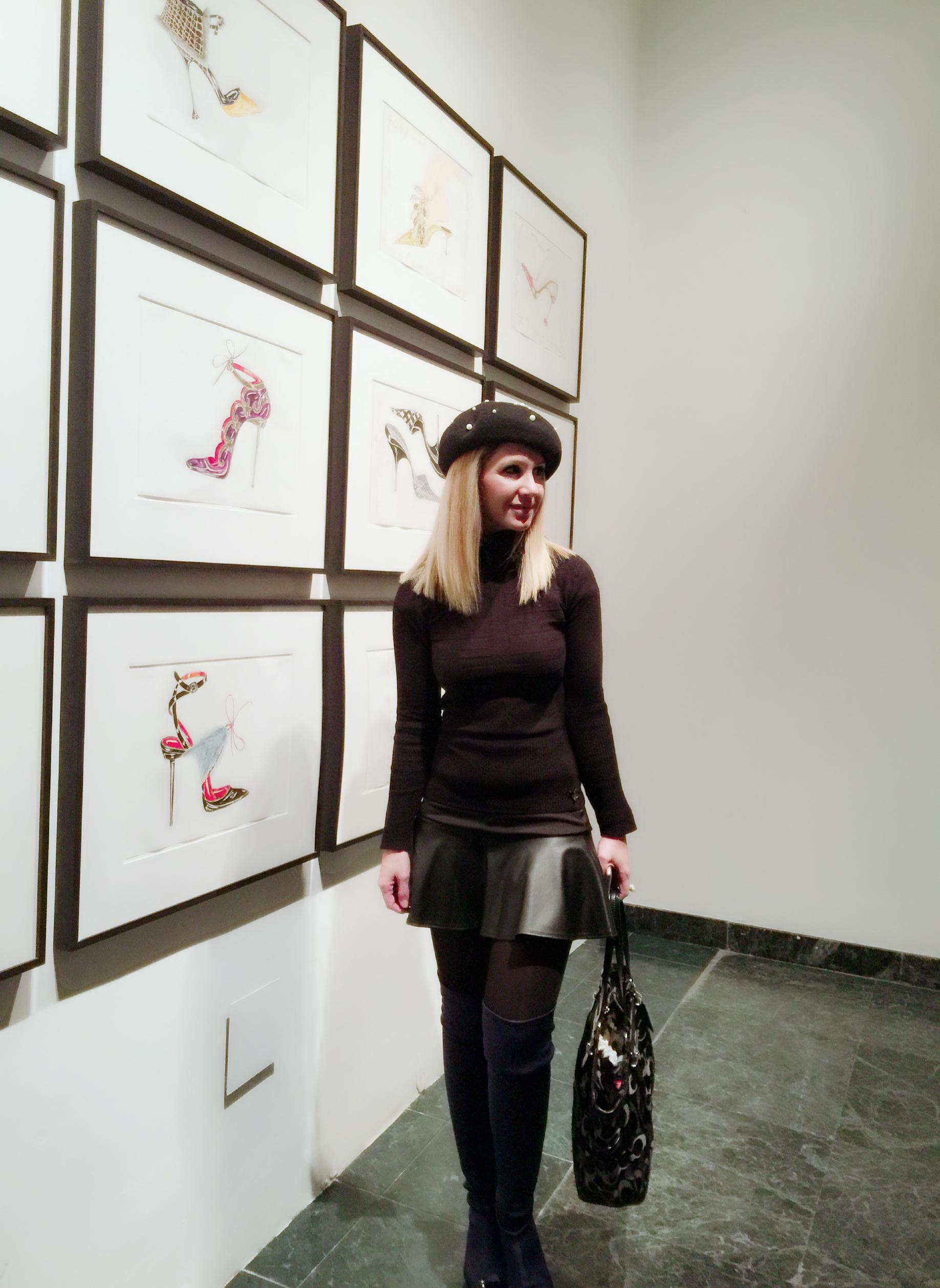 Manolo Blahnik exhibition