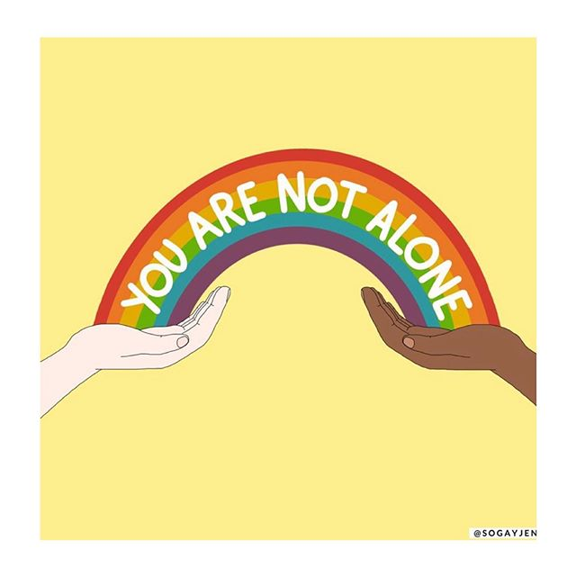 Happy belated Coming Out Day 🖤🏳️‍🌈🖤 (Ps: it's never too late to come out 😅🤷‍♂️🥰) . Art by: @sogayjen 🙏 . . . . #lgbt #lgbtq #lila19 #milchjugend #somoyoga #amorifera #yoga #artist #art #queer #instagay #love #equality #fluid #genderfluid #🏳️‍🌈 #switzerland #swiss #zurich #boyswillbeboys