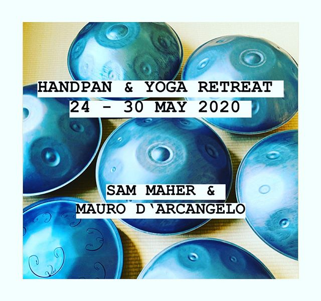 And so we embark together upon a new journey 🖤 . Thank you @sam.maher_  @amorifera & @echosoundsculpture . Location: the beautiful @monte_orada_portugal . Booking: www.somoyoga.com . . . . . . . . . . #amorifera #somoyoga #sammaher #handpan #yoga #yogaretreat #worldmusic #instayoga #hangmusic #handpanplayer #handpanmusic #meditation #portugal #yogaportugal #orada #montedaorada #yogainspiration #zurich #swiss