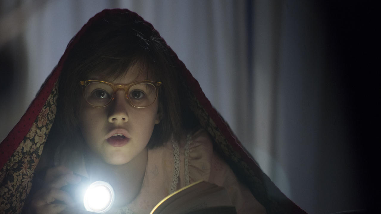 The adorable Ruby Barnhill played Sophie in The BFG. You didn't recognize her because no one saw that movie.