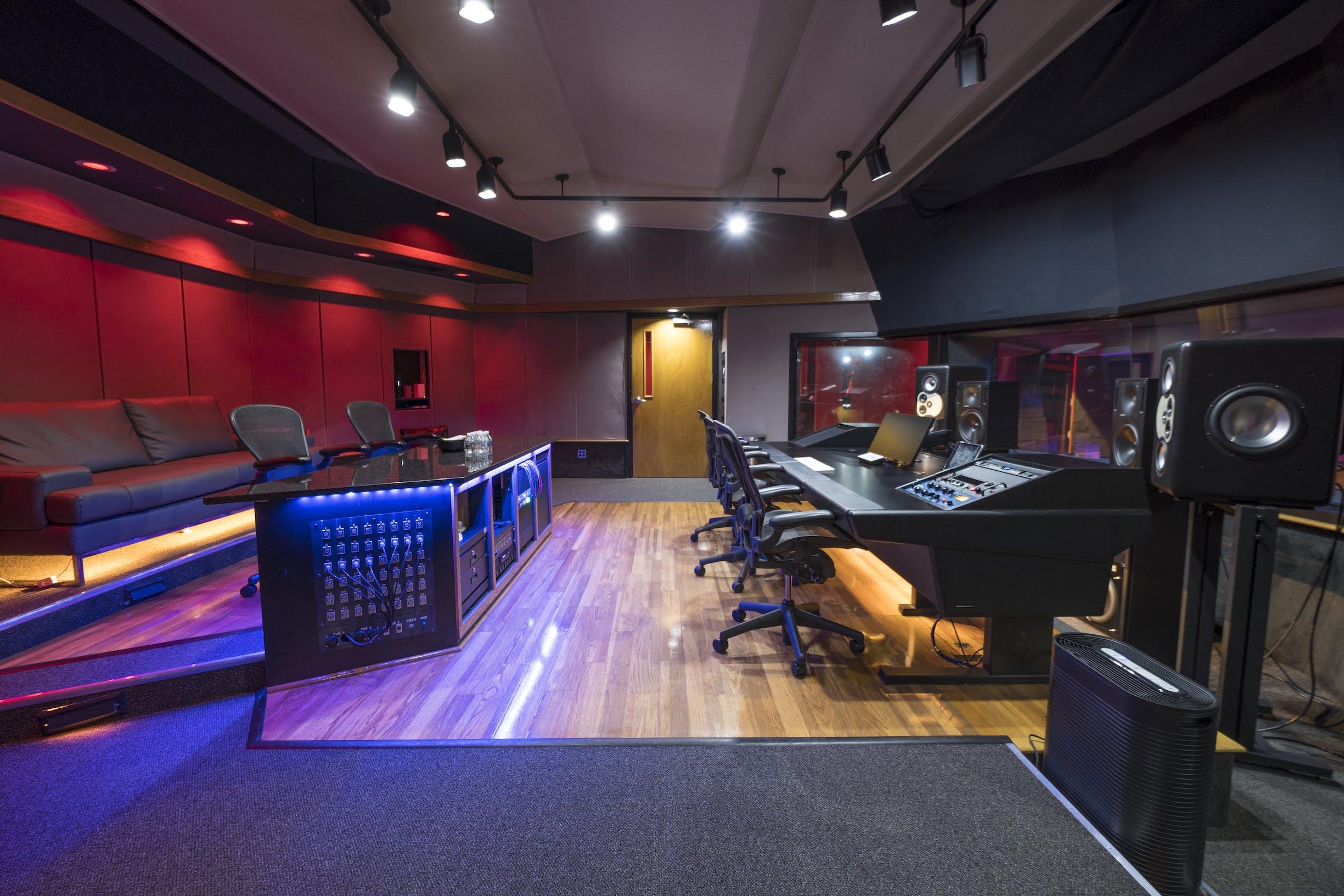 Doppler Studios Control Room 3