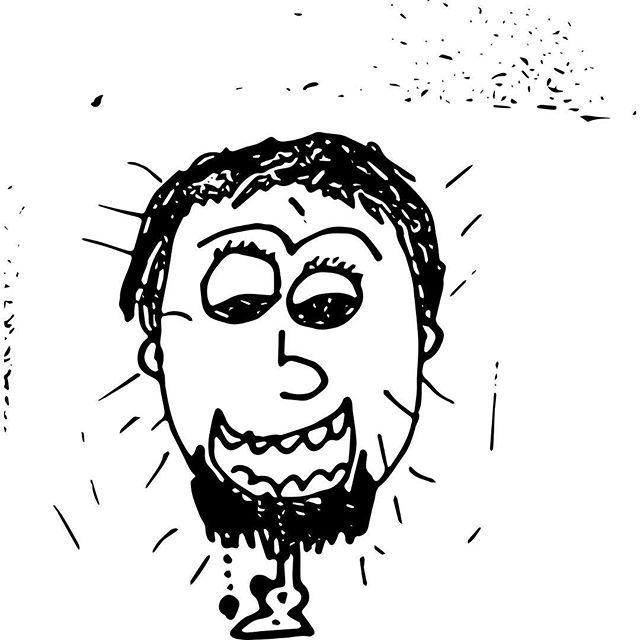 Headlight Shine Bright.  #adobeshape #doodle #medicalaccident #drawing