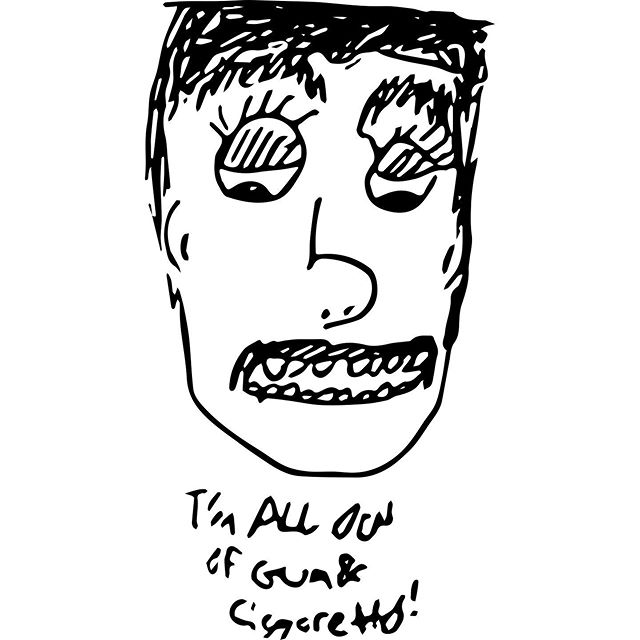 Need to re-up.  #doodle #adobeshape #drewonacoffeecup #scruffyboi #danjohnson