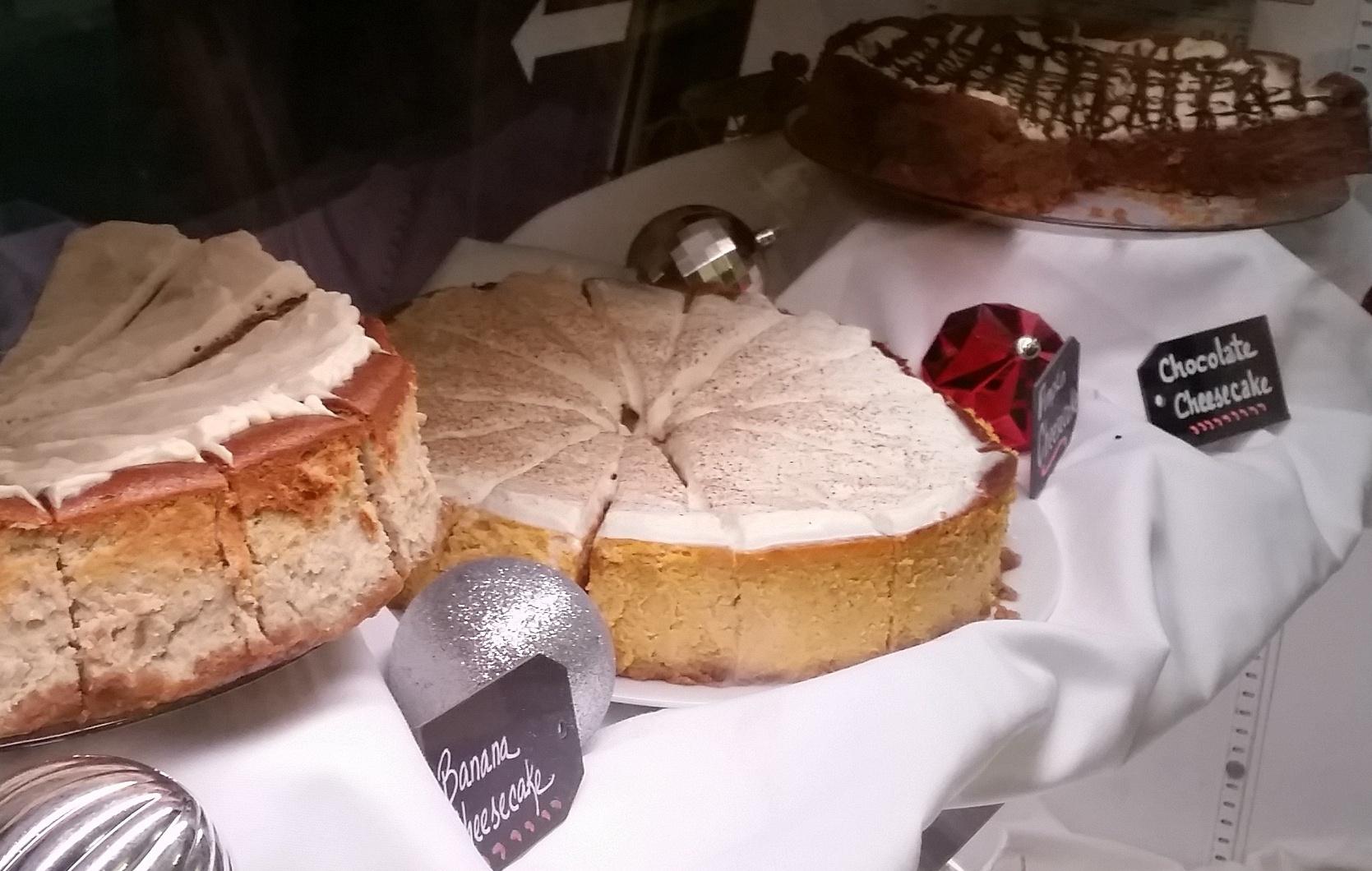 Homemade Cheese Cakes