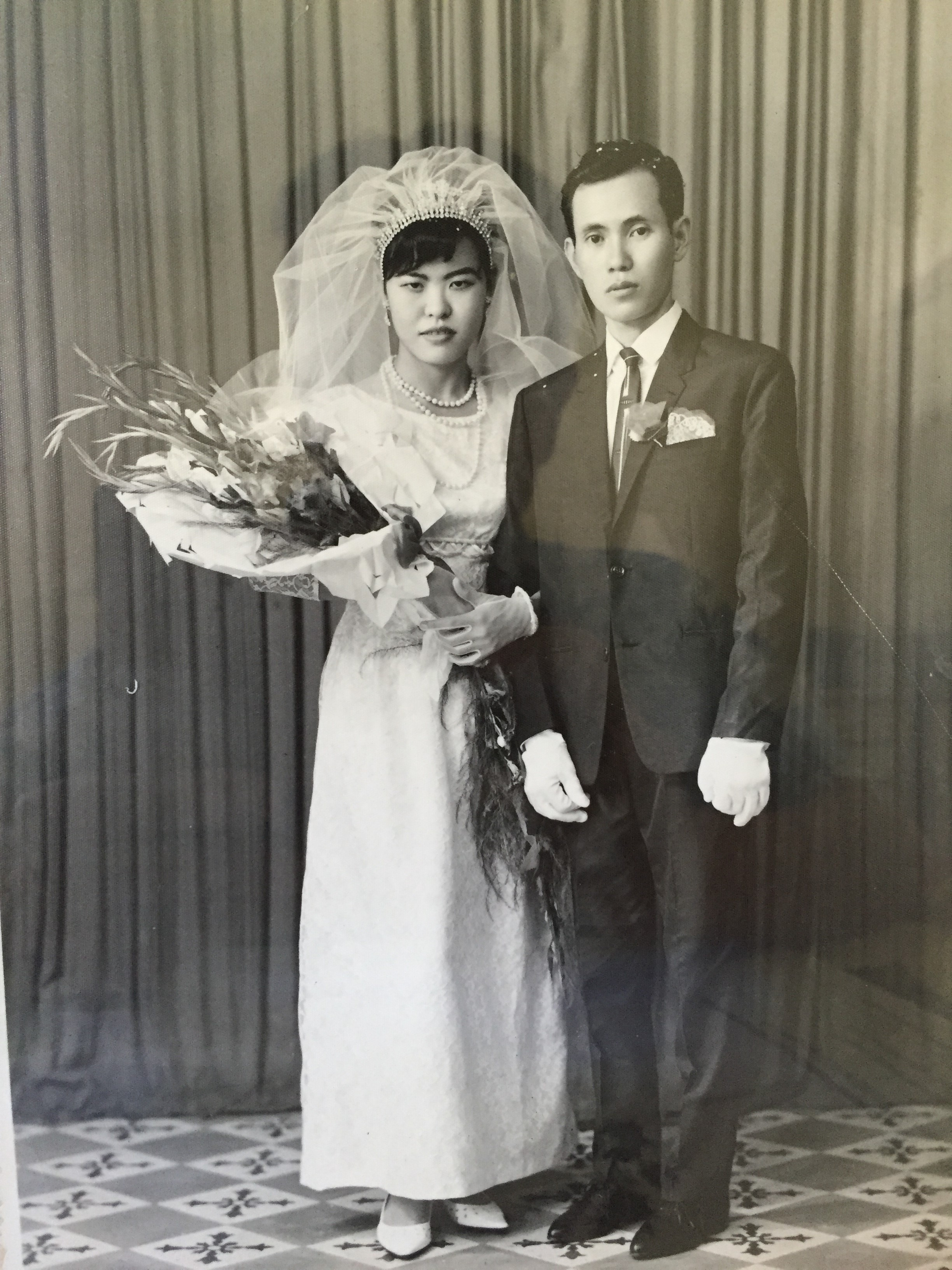 Lam and Ann were married in 1966. They met at the drugstore that Ann's father owned and where Lam worked.