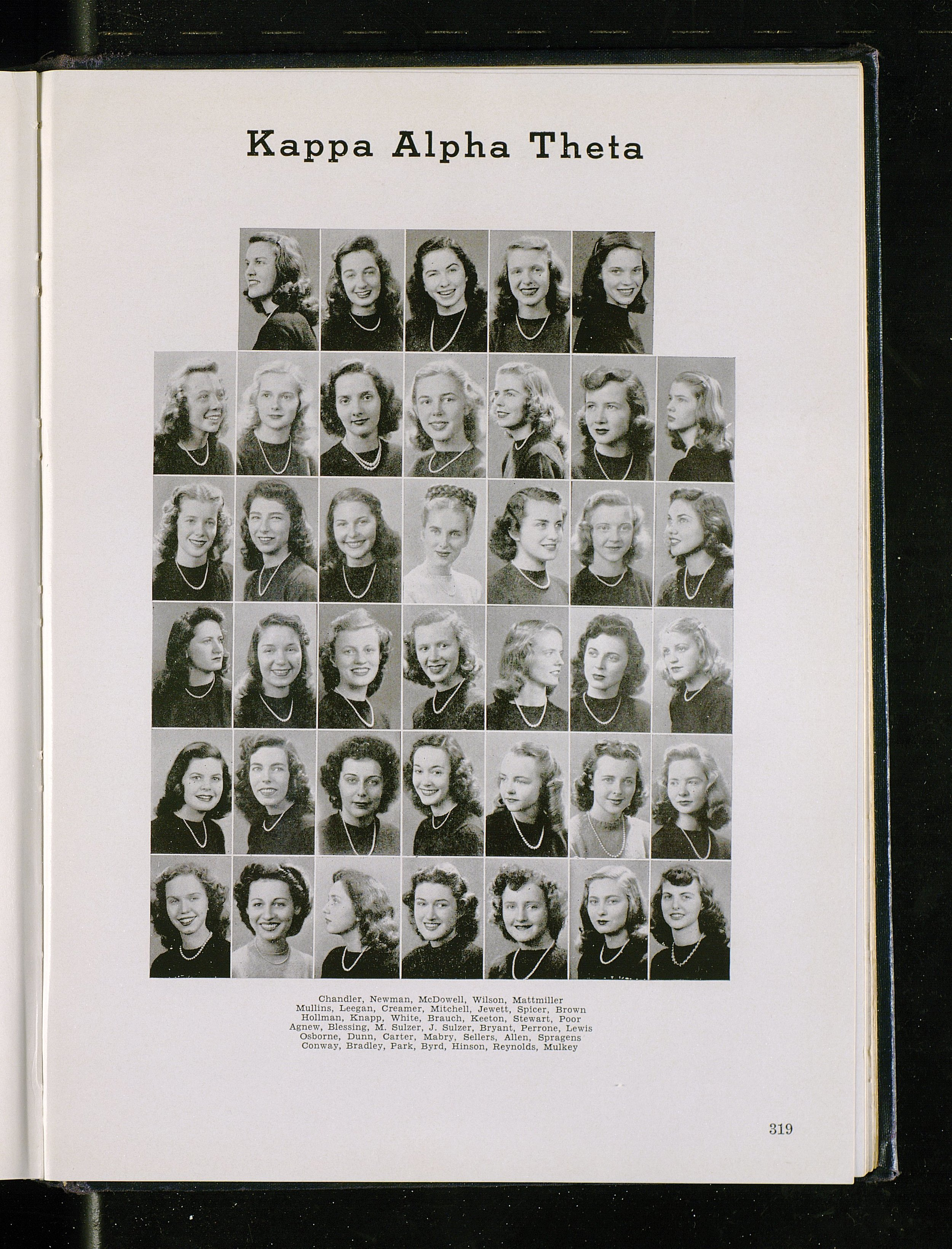 UK Kappa Alpha Theta 1946