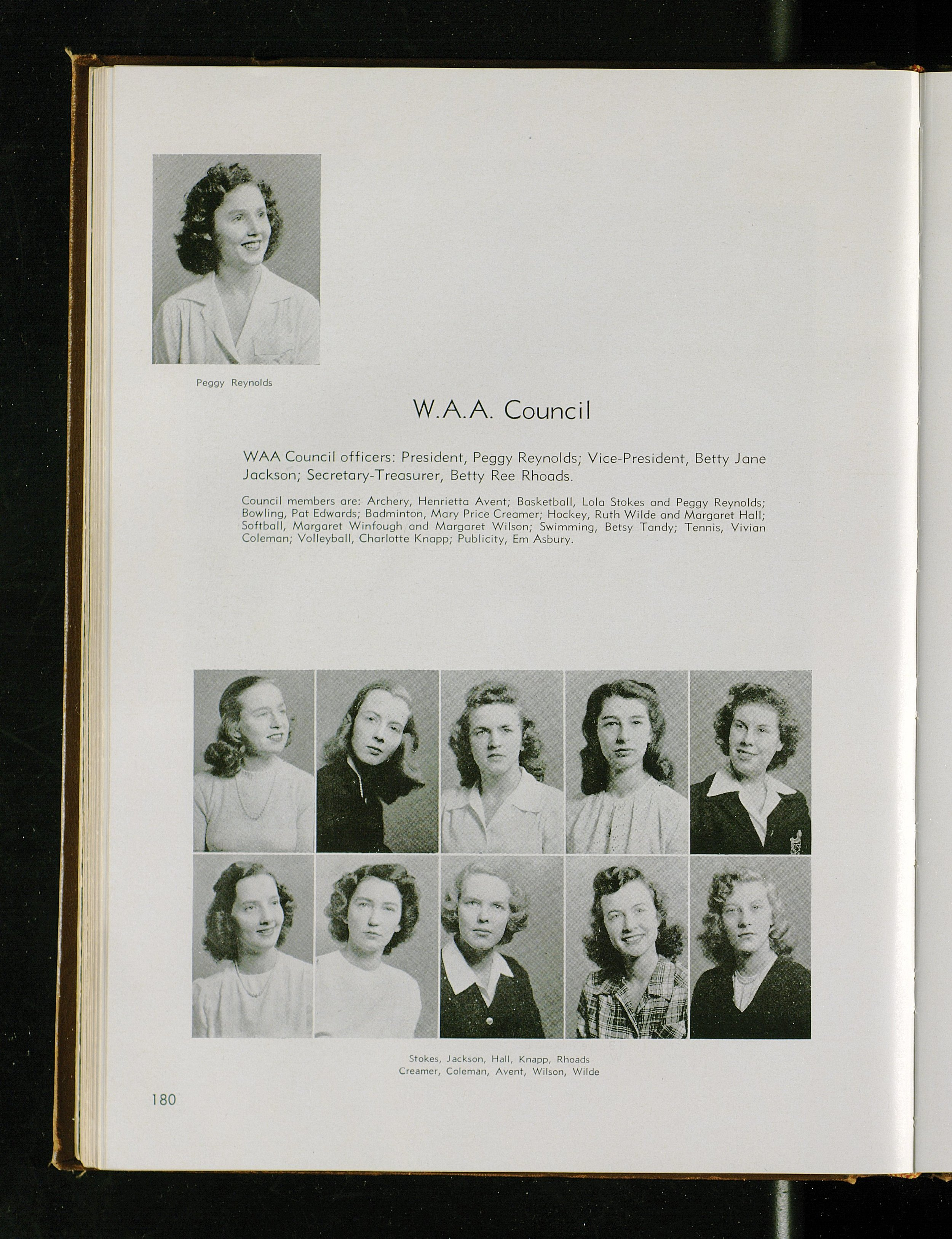 UK WAA Council 1948