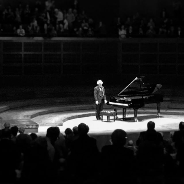 Poem for András Schiff  2018.04.17  There's so much I want to say About the feeling you created In the concert hall Conjuring poets from our past Between majestic and haunting E-flat major and minor Showing us how much they suffered and loved With their extreme way of knowing the  harmonies of this world They left so much for us Thank you for helping us see To honor the last notes of Schumann's hands The friendships that sustained him Recall the clarity of Mozart in A minor To bring Brahms and Bach together  In unity In B minor  One end leading to a new beginning With Clara in the shadows gently, powerfully holding the space So we can glimpse into the expressions of a turbulent, wise mind To try to understand  And then to close the night  In the brilliance of Beethoven  Teacher to us all Farewell, absence, return Like these poets who come and go  Like all things of lasting importance in life Love is a force That can give consolation to the farewell fill the absence bring joy to the return All these lessons played so tenderly On a glimmering piano In crystal tones I still yearn to touch To still time to hold again A performance, a soundscape Asking us to wonder  If time is nonlinear If space always follows time or If time will bend to follow the spaces we create Reminding us of how much we are all connected In a way only music can do In a way only loving poets can do Thank you