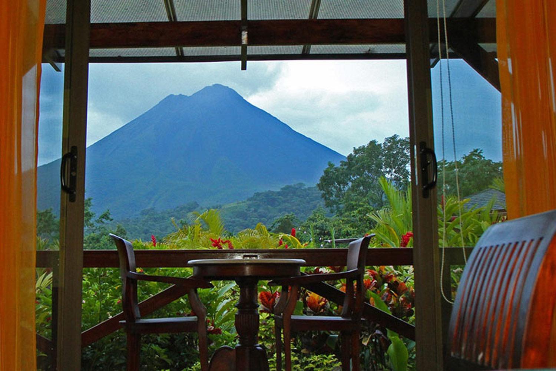Arenal Volcano from Nayara Hotel, Spa & Gardens