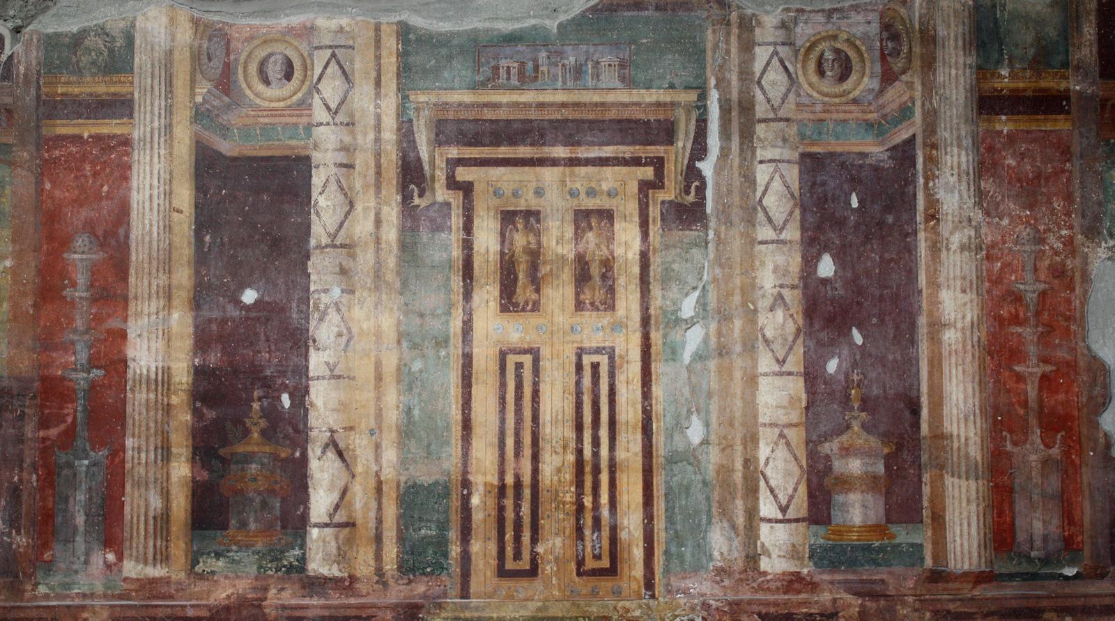 fresco, Pompeii