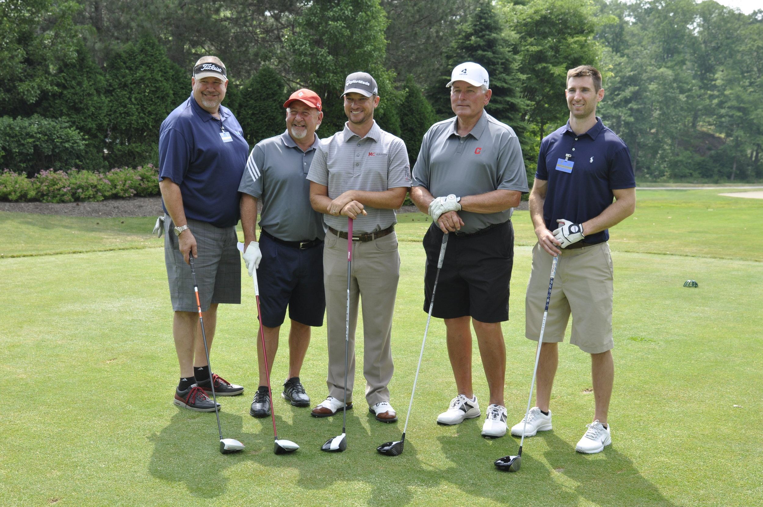 Jeff Deliere, Bob DiBiasio, Kyle Thompson, Mike Hargrove and John Patrichia.JPG