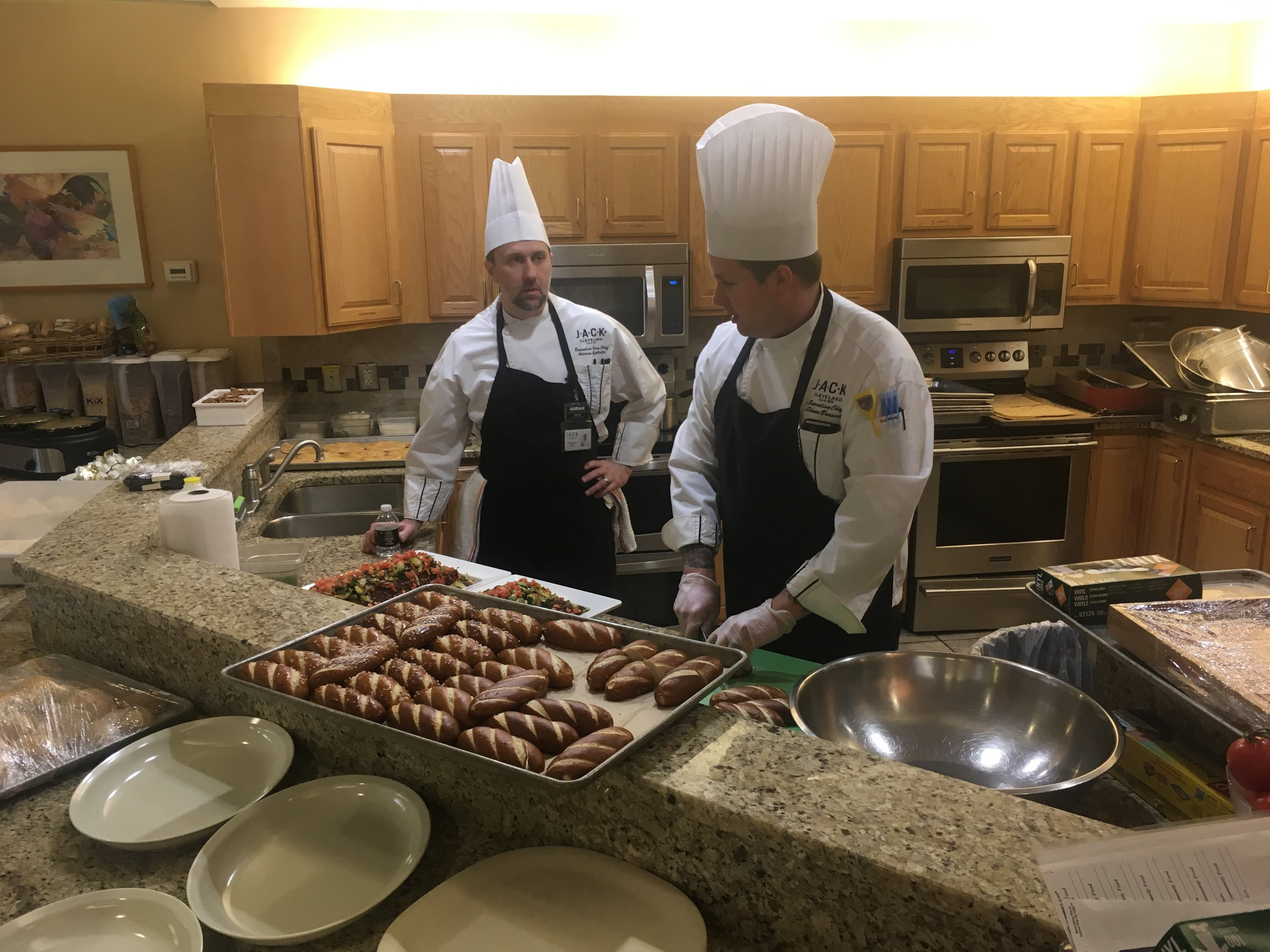 JACK Casino Chefs prep for RISE & Dine with AT&F