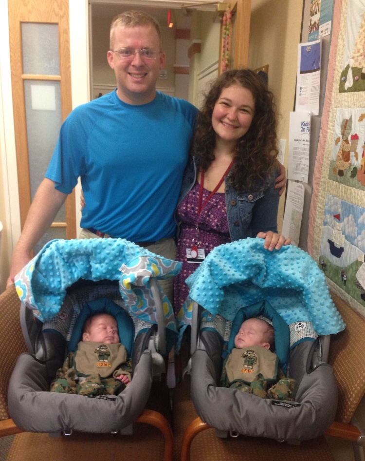 The Lindler family comes home to RMH