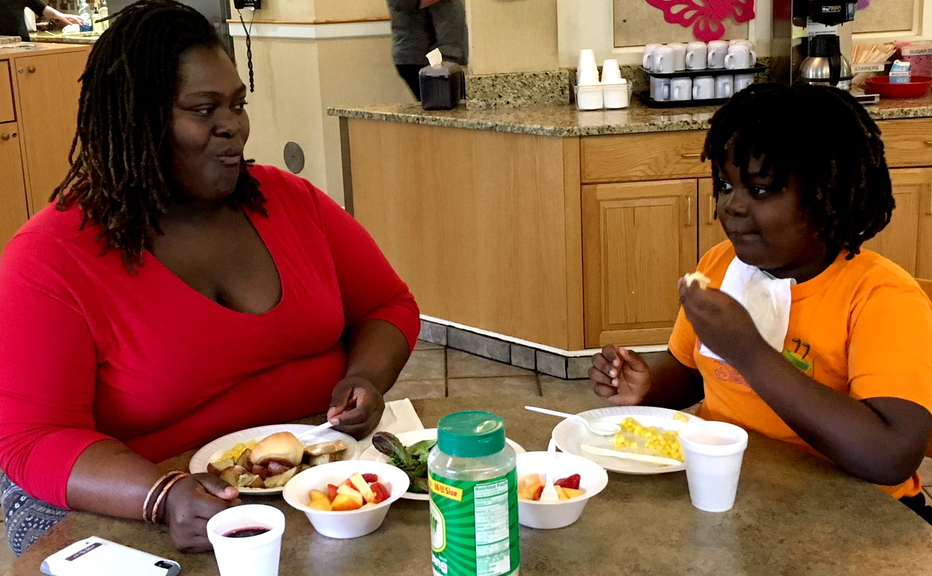 Pro-Am proceeds have helped grow the family meal program from an occasional potluck to three daily meals.