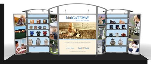 Tradeshow Displays - Attract customers with a visually stunning tradeshow display.