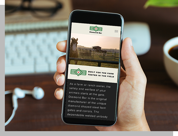 MOBILE-FRIENDLY - Our responsive websites perform great on phone, tablet and desktop.