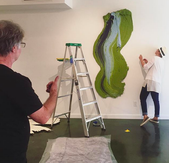 Behind the scenes: installation at  Diehl Gallery  | the show is up until August 15th