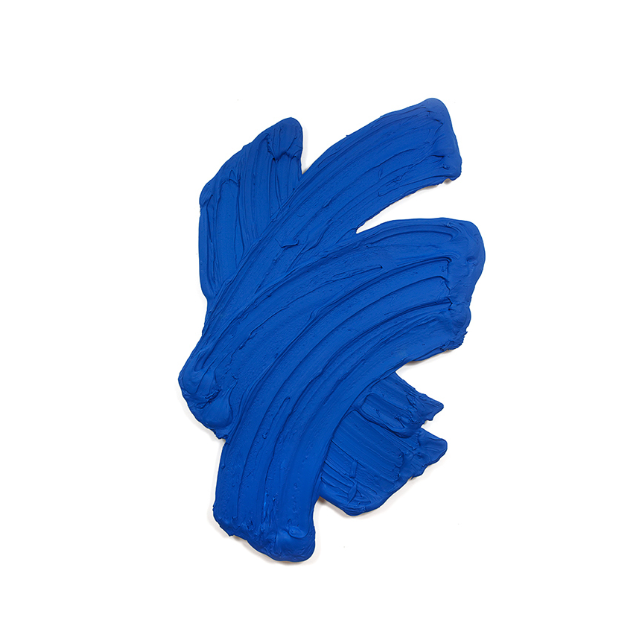 #MemoryMonday  Cumanagoto (International Klein Blue), 2014 (Polymer and dispersed pigment on aluminium), 76 × 45 7/10 in.  Conny Dietzschold Gallery