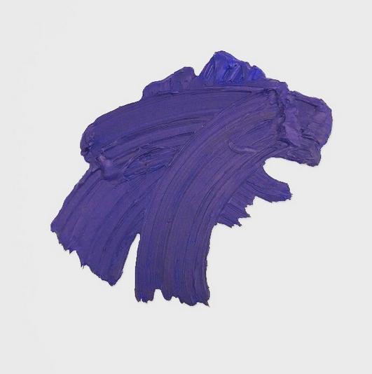 Adler, 2018 (polymer and pigment on aluminum), 58 x 86 cm