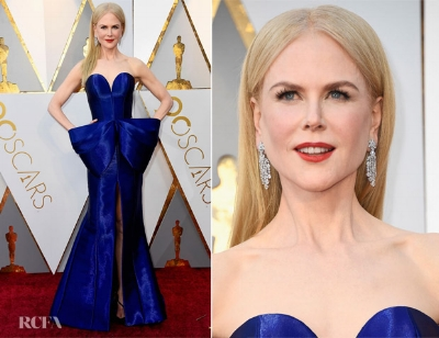 Beautiful Nicole Kidman in Armani Privé