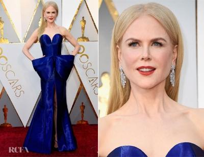 Beautiful Nicole Kidman in Armani Privé