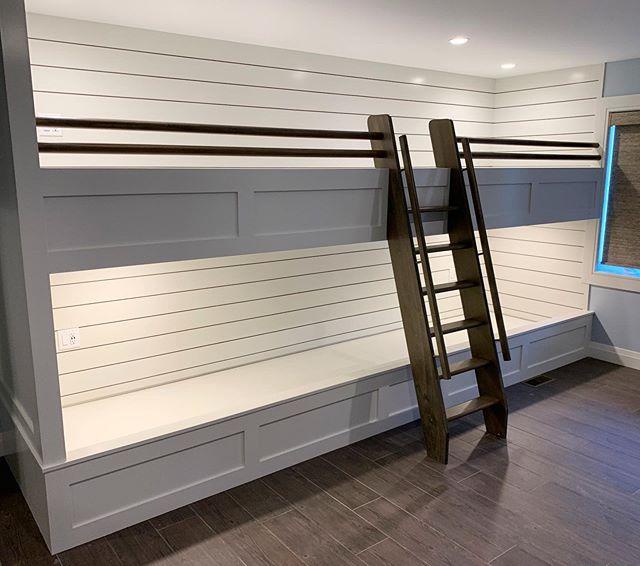 Custom built bunk beds #wkcoastalbuilders #homeswellbuilt #liveswelllived