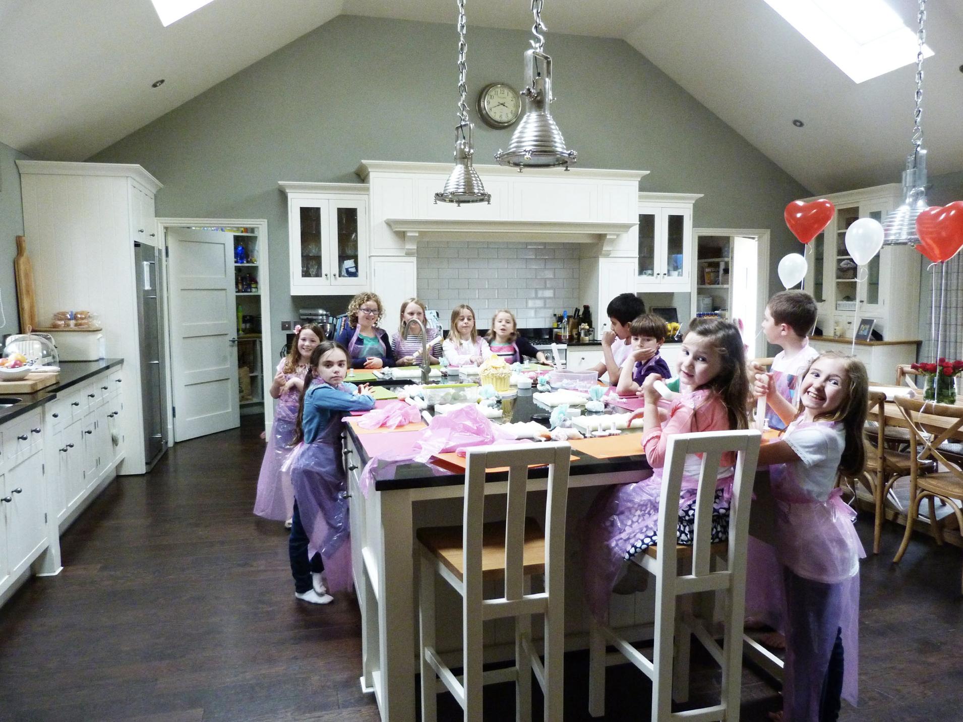 Children's Cupcake Decorating Party Suzanne Esper
