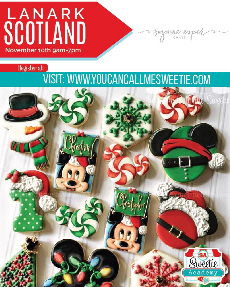 Mickey Christmas cookie collection