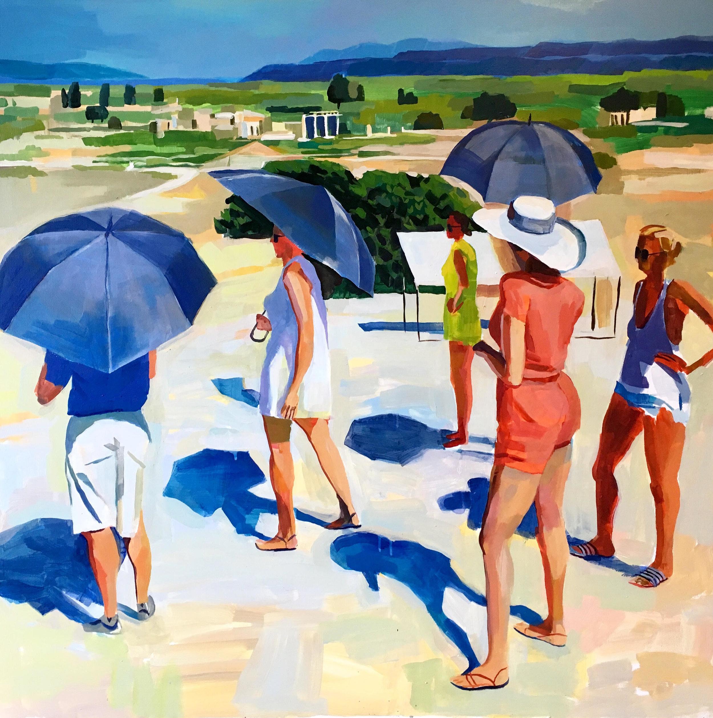 Tourists by Erica Lamberson