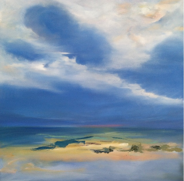"Bahamas, ""48x48"", oil on canvas, SOLD"