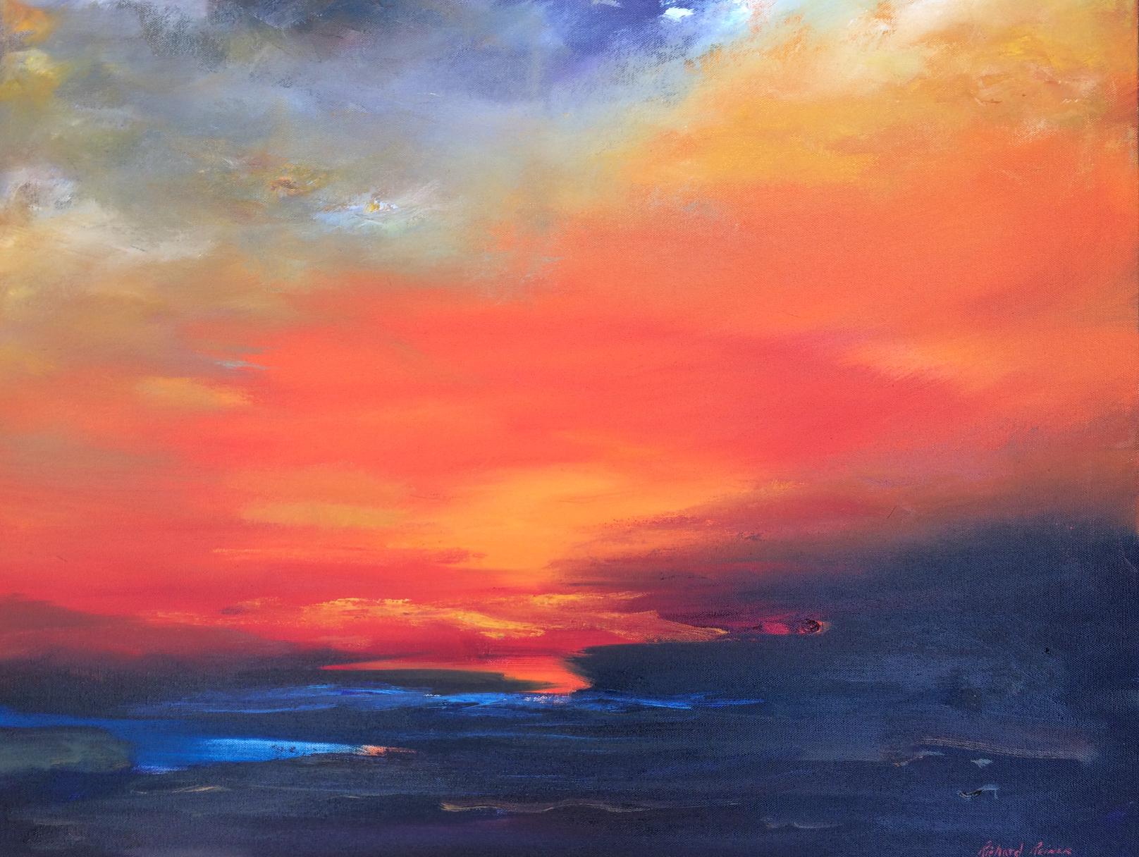 "Sunrise Sunset,""24x30"",oil on canvas,sold"