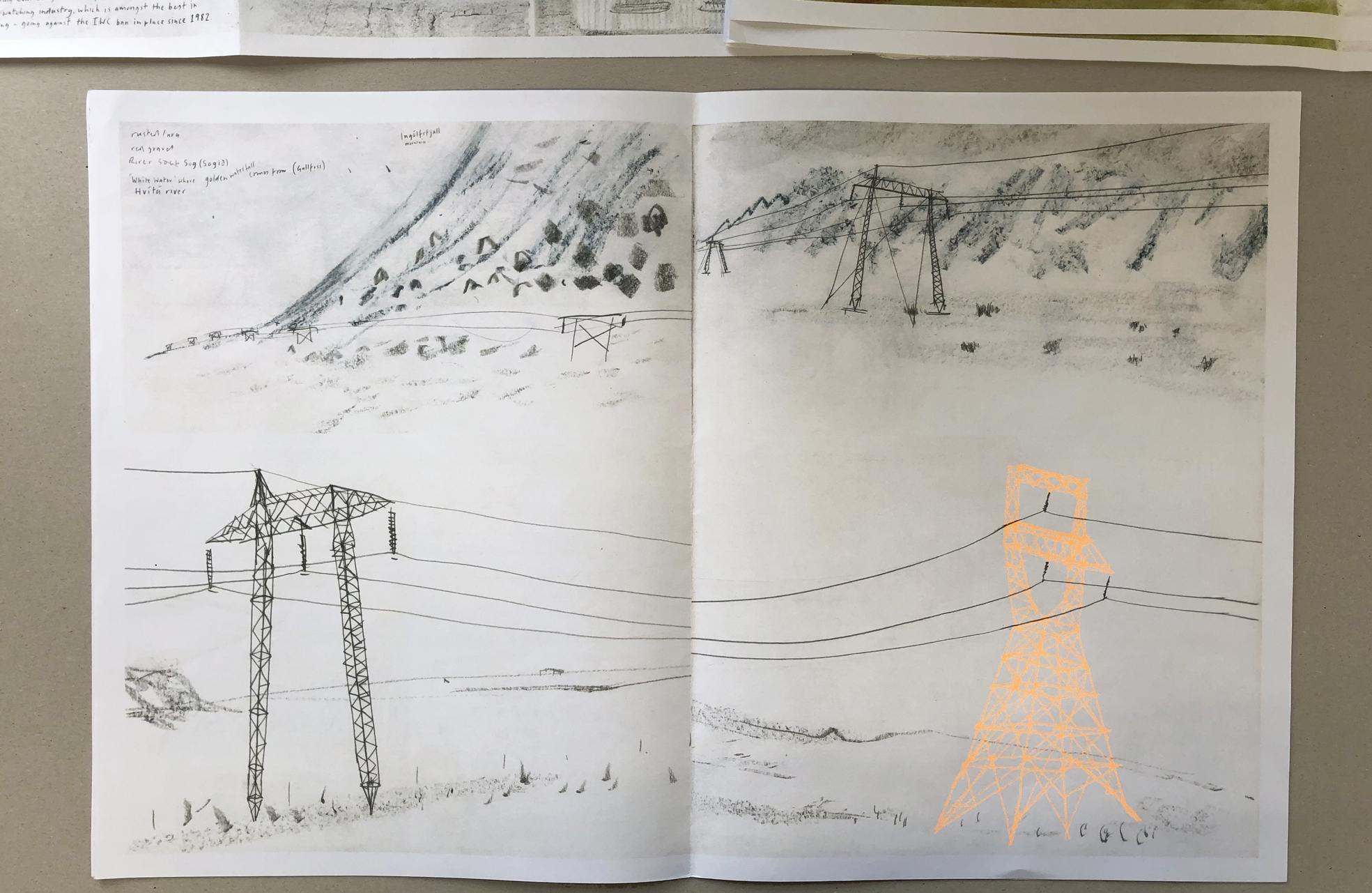 Iceland Sketchbookzine- Gerry Turley
