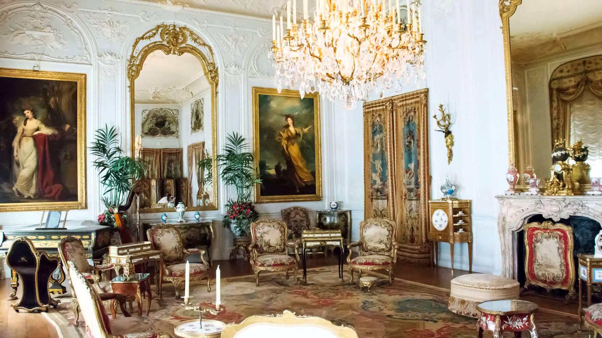Waddesdon Manor, Interior