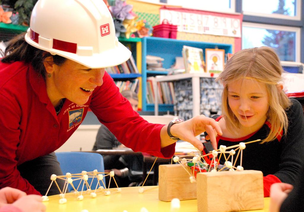 classroom toothpick building activity