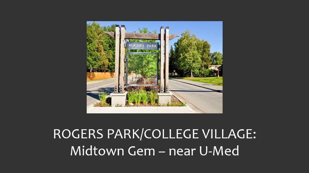 Roger's Park/College Village