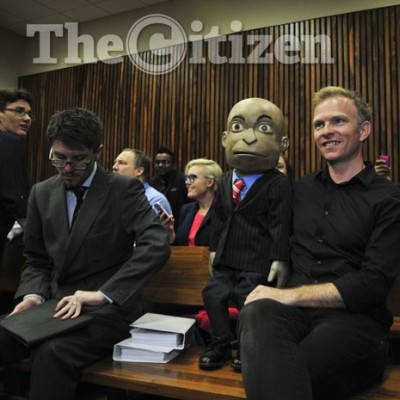 Conrad Koch and Chester Missing in the Randburg Magistrate's Court   © The Citizen