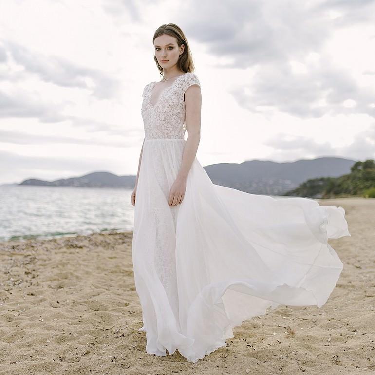 separation shoes f0db4 2406f Hochzeitskleider - Brautkleider schlicht & modern | Maleana