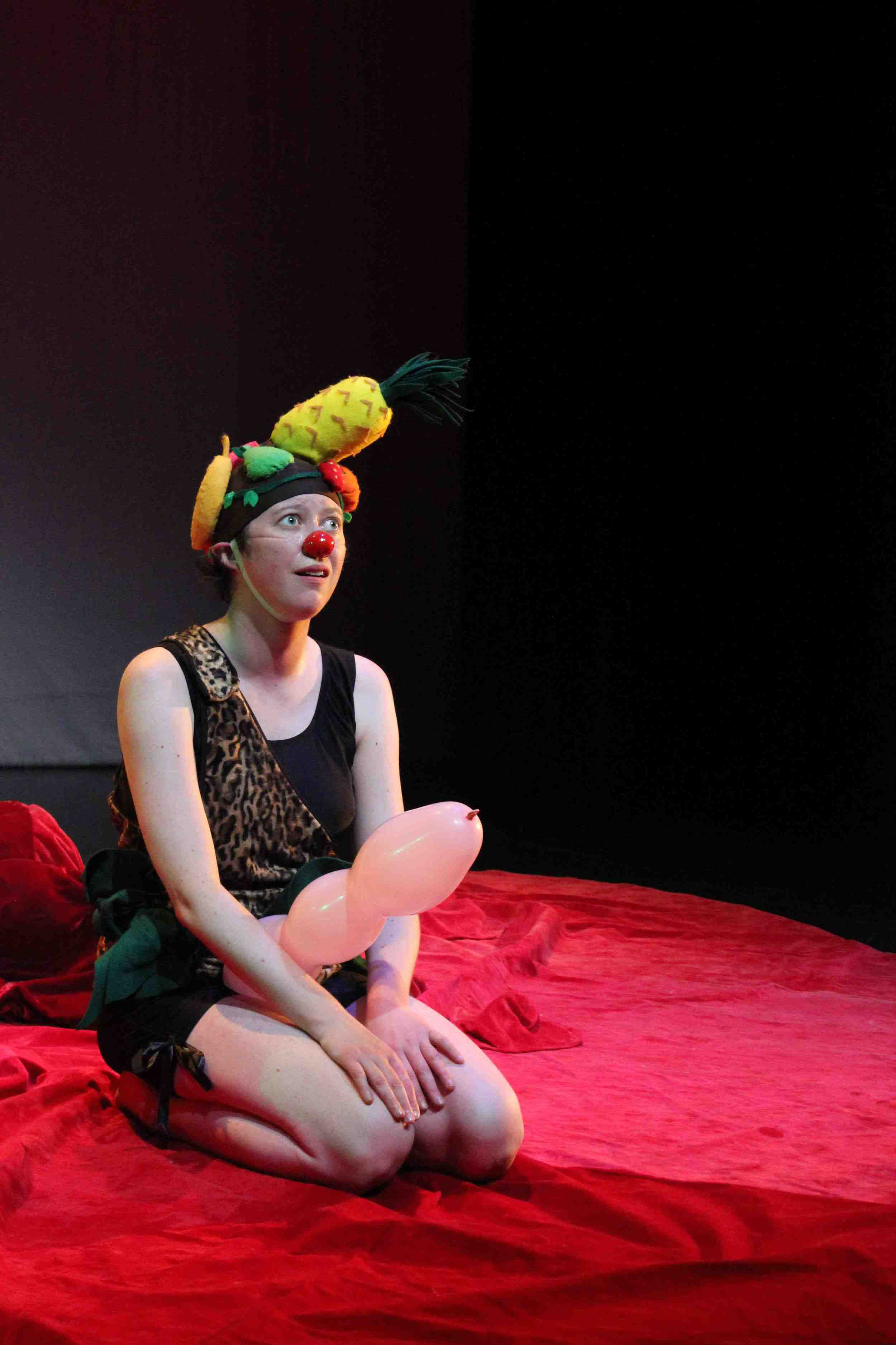 Fruithead, created by Sara Tilley and Mark White, She Said Yes! Theatre Company, 2013. Photo by Kyle Bustin.