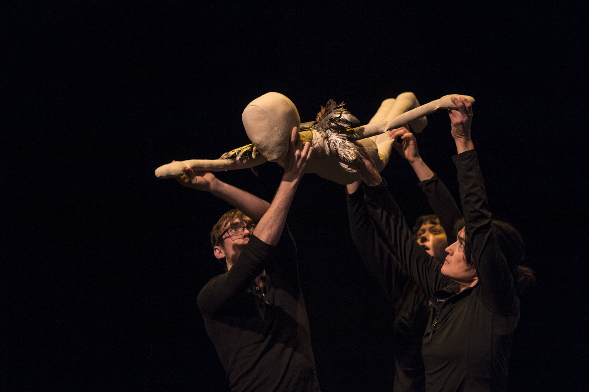 Banff Centre Old Trout Puppet Intensive. Photo by Rita Taylor.