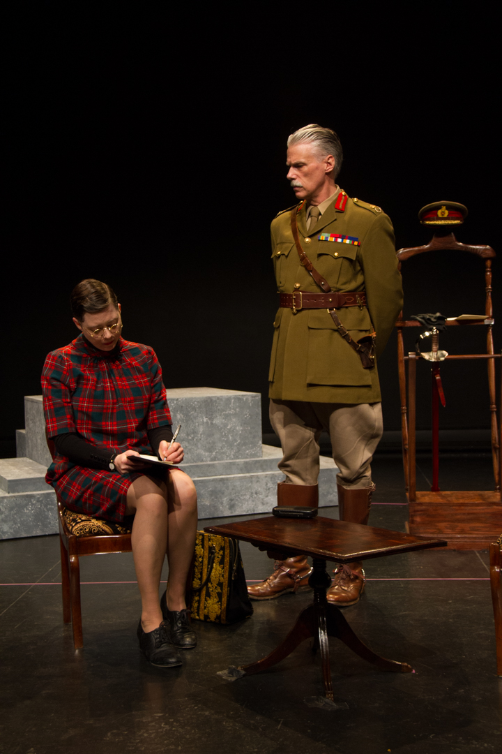 Dedication, by Ed Riche, directed by Charlie Tomlinson. RCA Theatre 2016. Photo by Victoria Wells.