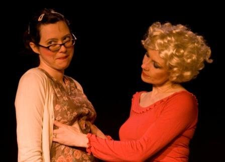 Monarita by Shannon Bramer, with Sara Tilley and Ruth Lawrence. Photo by Victoria Wells.